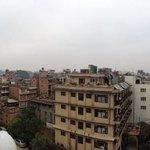 Вид с вернего этажа отеля