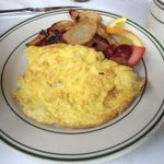 The Cheese Omelet