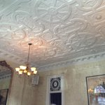 Charm! The Dining Area Ceiling Detail