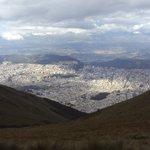 Quito desde las alturas.