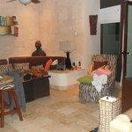 2nd floor living area of 2 story condo (3br 3 bath)