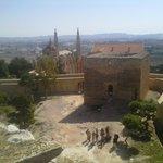 vista desde la torre triangular