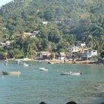 Fishing boats in bay