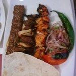 Mixed grill main dish