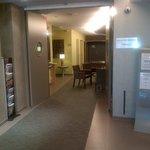 couloir d'entrée Hôtel