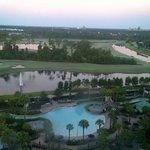 Bonnet Creek Disney view