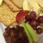 Cheeseboard supplied by stamford cheese cellar