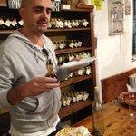 Balsamic tasting at Frattoria Di Montagliari