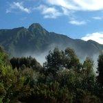 Gorgeous view of Sabyinyo Volcano
