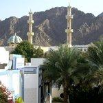 Vue sur une mosquée chiite