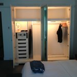 King Room - View of Closet Space