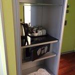 coffee and safe closet