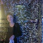 Steambath Shower in Jr. Suite