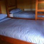 camas de la habitación