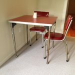 rusty kitchen table