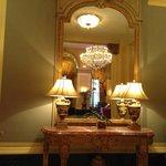 Lobby area decor