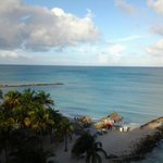 Caribbean Sea - view from room 963