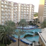 View of part of resort from balcony - room 963