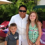 Family Concierge Staff - Orion (our kids were so sad to say goodbye to him)
