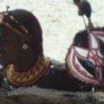sur la plage vendeur Samburu