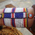 bijou acheté sur la plage chez les Samburu