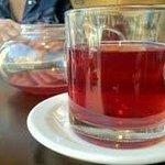 Close up of pot of tea