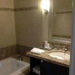 Nice quality= separate bath/shower area