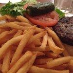 Average tasting burger but arrogantly overpriced