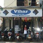 Vihar restaurant....pure veg inexpensive nice restaurant.....