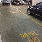 Bizarre parking