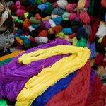 Wool at the Otavalo Market