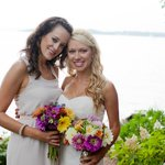 Bride & bridesmaid