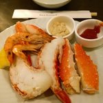 Lobster Tail and King Crab Legs
