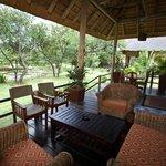Safari house deck