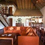 Safari house interior