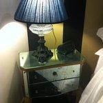 table de nuit vintage!!