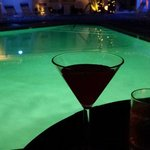 Cocktail hour by the pool!