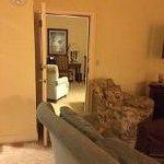 Adjoining door to suite
