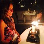 fantastic night for the birthday girl