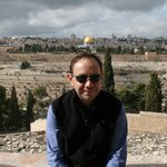 Me at the Mount of Olives