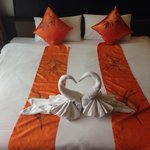 Lovely decorated room on my stay.. Thnk u Ananta Burin