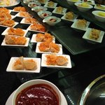 Evening Canapés - yummy delights @ Premier Lounge