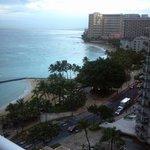 View from fifteenth floor oceanview. Breathtaking!