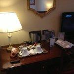 Чай/кофе/десерт в номере