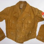 Jacket, worn by member of the Hitler Youth.