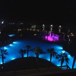 Night view from the Executive Lounge Terrace