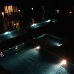 Anata Burin pool view at night