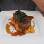 Roasted Lamb Rump in caribbean spices