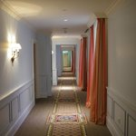 Walking to the room