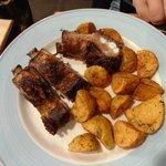 Свиные рёбра с картошкой
